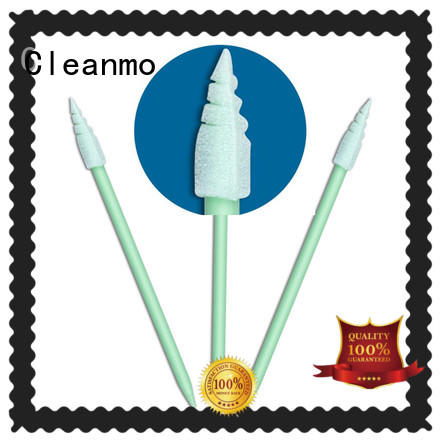 affordable puritan swabs ESD-safe Polypropylene handle wholesale for Micro-mechanical cleaning