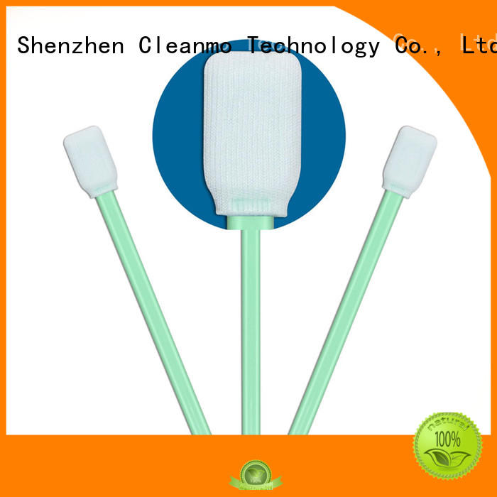 Cleanmo good quality long swabs factory for optical sensors