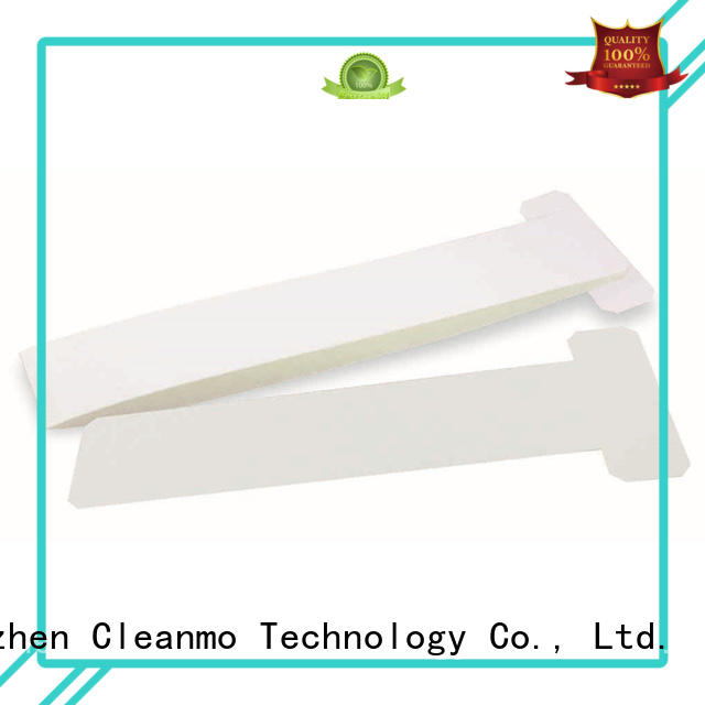 Cleanmo durable zebra printer cleaning cards factory for ID card printers