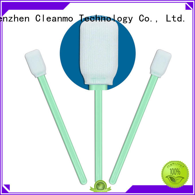 Cleanmo high quality dacron swabs manufacturer for general purpose cleaning