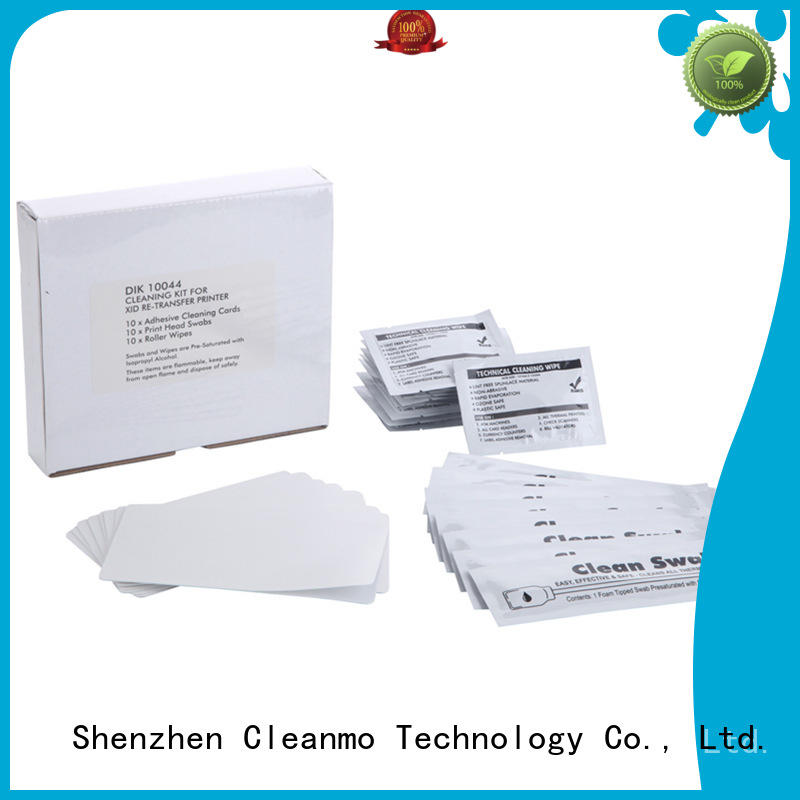 Cleanmo safe material printer cleaner supplier for the cleaning rollers