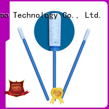 Cleanmo thermal bouded long q tips manufacturer for excess materials cleaning