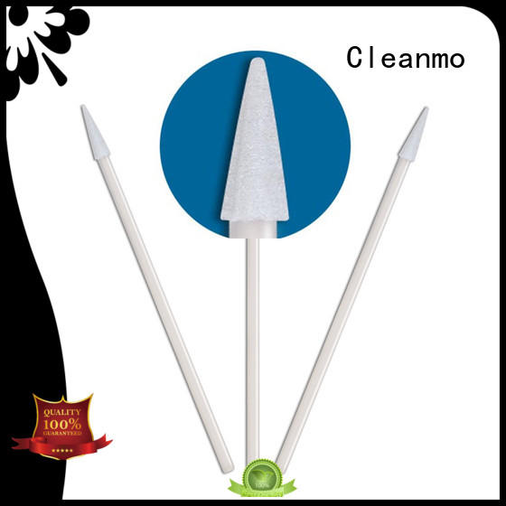 Cleanmo ESD-safe Polypropylene handle mouth swabs walgreens factory price for general purpose cleaning