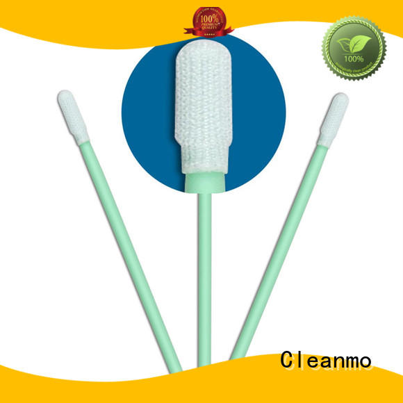 excellent chemical resistance esd swabs supplier for optical sensors Cleanmo