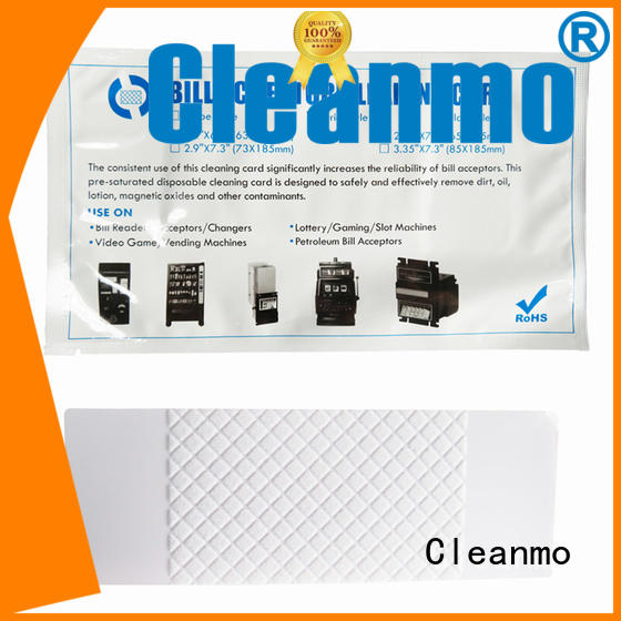 white cleaning credit card factory for readers Cleanmo
