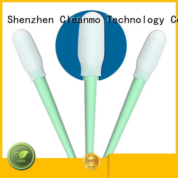 Cleanmo ESD-safe ear swab manufacturer for excess materials cleaning