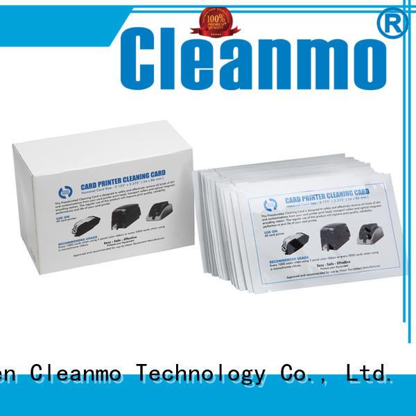 Cleanmo safe zebra printer cleaning factory for Zebra P120i printer