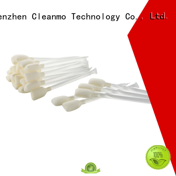 Cleanmo effective printhead cleaning swabs factory for Card Readers