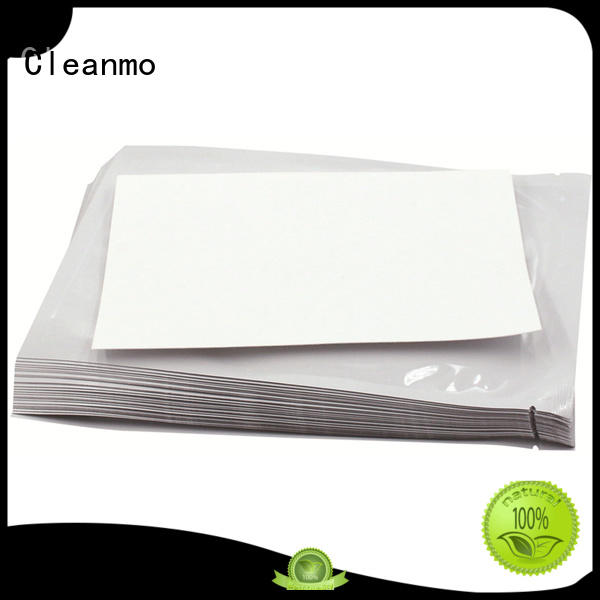 Cleanmo Aluminum Foil evolis cleaning kits supplier for ID card printers