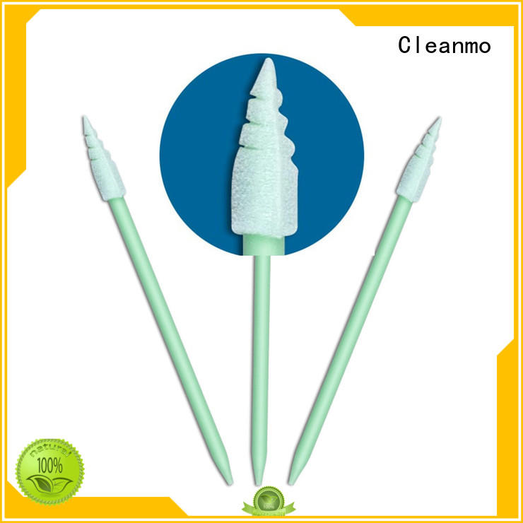 Cleanmo green handle oral swabs walmart manufacturer for general purpose cleaning