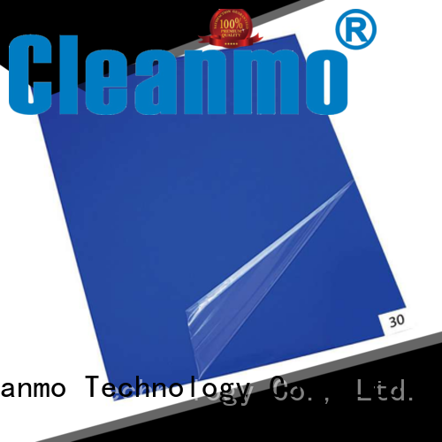 Cleanmo effective cleanroom tacky mat wholesale for laboratories