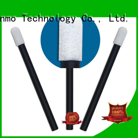 Cleanmo Polyurethane Foam cosmetic cotton buds factory price for excess materials cleaning