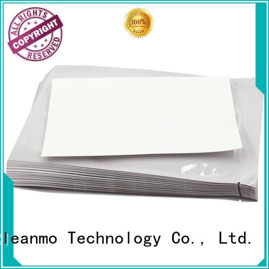 Cleanmo cost-effective Evolis Cleaning cards factory price for Evolis printer