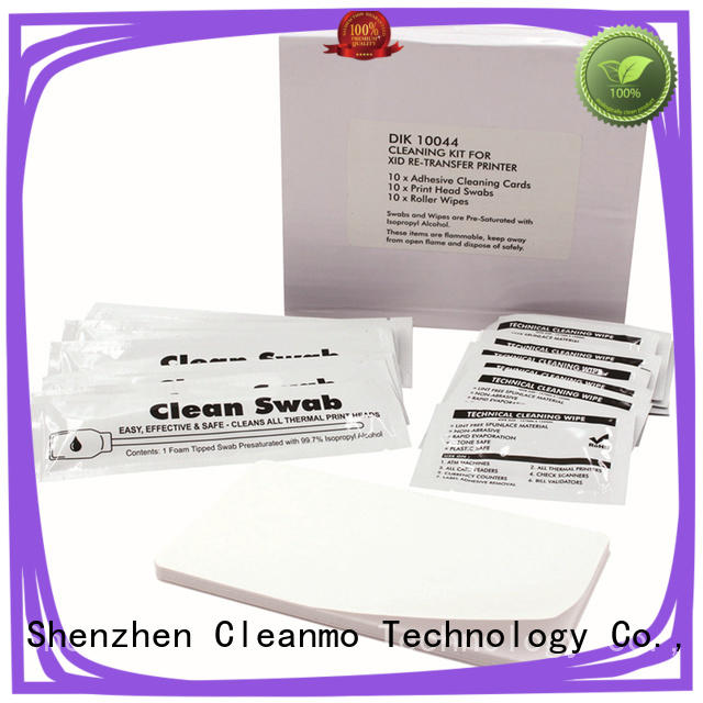 Cleanmo Electronic-grade IPA inkjet cleaning solution supplier for card printer