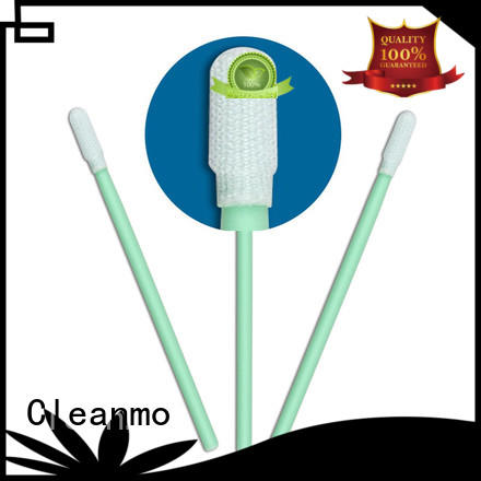 high quality polyester swab double-layer knitted polyester supplier for optical sensors