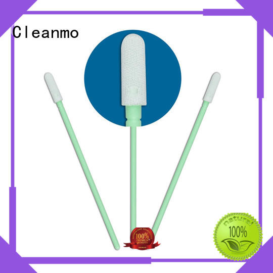 ESD-safe clean tips swabs double layers of microfiber fabric supplier for excess materials cleaning