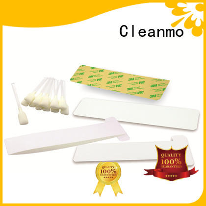 Cleanmo disposable zebra cleaning kit manufacturer for ID card printers