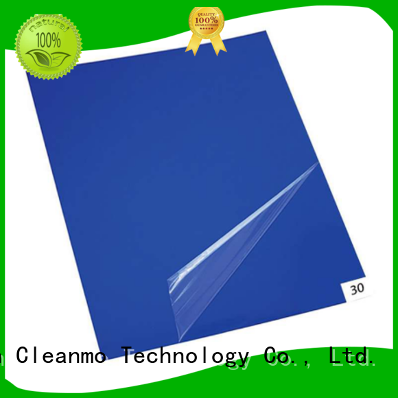 Cleanmo polystyrene film sheets clean room mat manufacturer for cleanroom entrances
