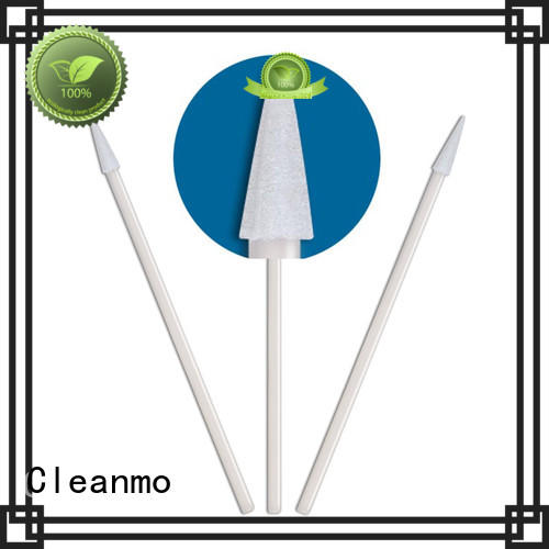 Cleanmo ESD-safe cotton swab factory price for excess materials cleaning