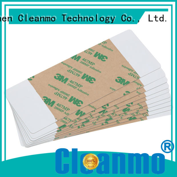 Cleanmo good quality printer cleaning solution high tack pressure sensitive adhesive for ImageCard Magna