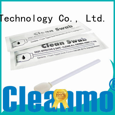 cleaning pre-saturated foam printer swabs Cleanmo Brand company