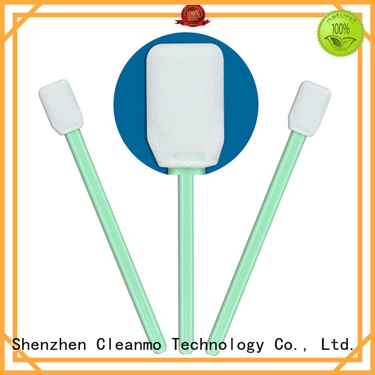 Cleanmo EDI water wash camera sensor cleaning swabs manufacturer for Micro-mechanical cleaning