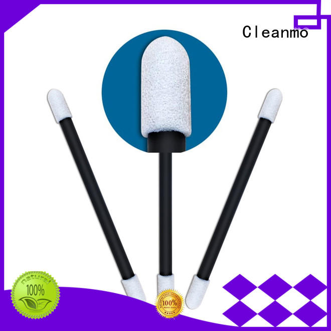 precision tip head cotton tips Polyurethane Foam for Micro-mechanical cleaning Cleanmo