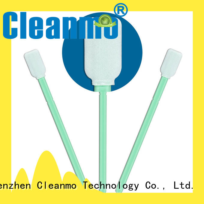 Cleanmo excellent chemical resistance swab applicator manufacturer for Micro-mechanical cleaning