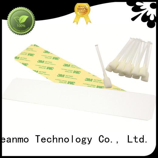 disposable zebra cleaning card T shape factory for Zebra P120i printer