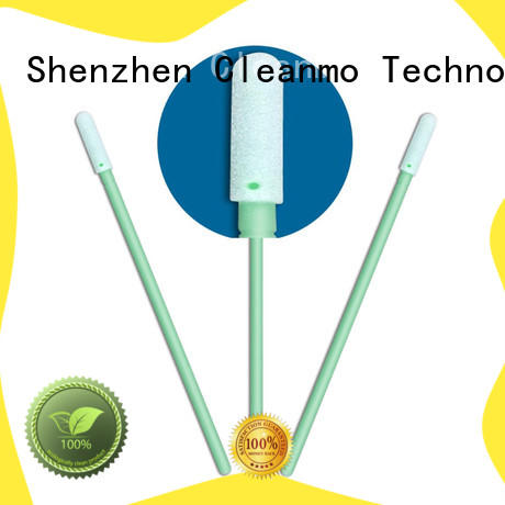 ESD-safe ear swab precision tip head supplier for general purpose cleaning