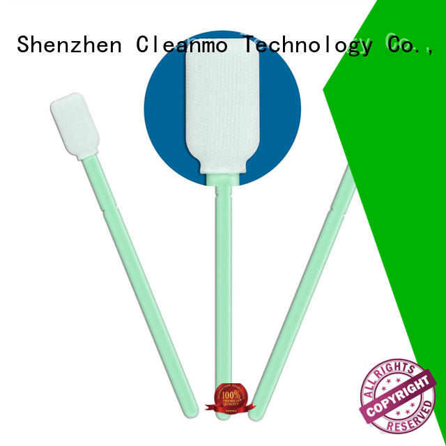 Cleanmo flexible paddle esd swabs wholesale for general purpose cleaning