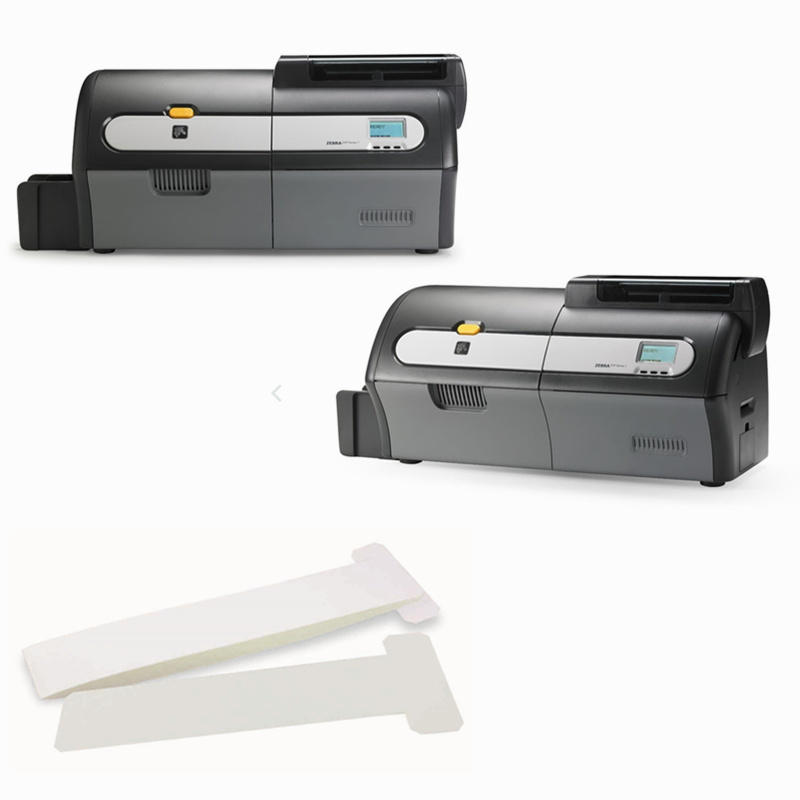 Cleanmo pvc zebra printer cleaning cards manufacturer for Zebra P120i printer-3