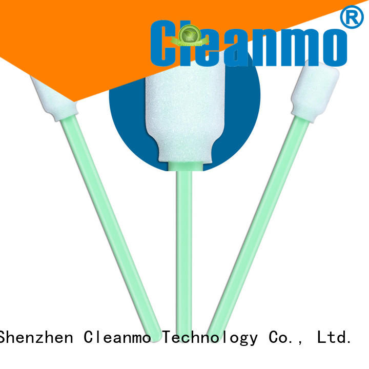 cost-effective foam swabsticks thermal bouded supplier for general purpose cleaning