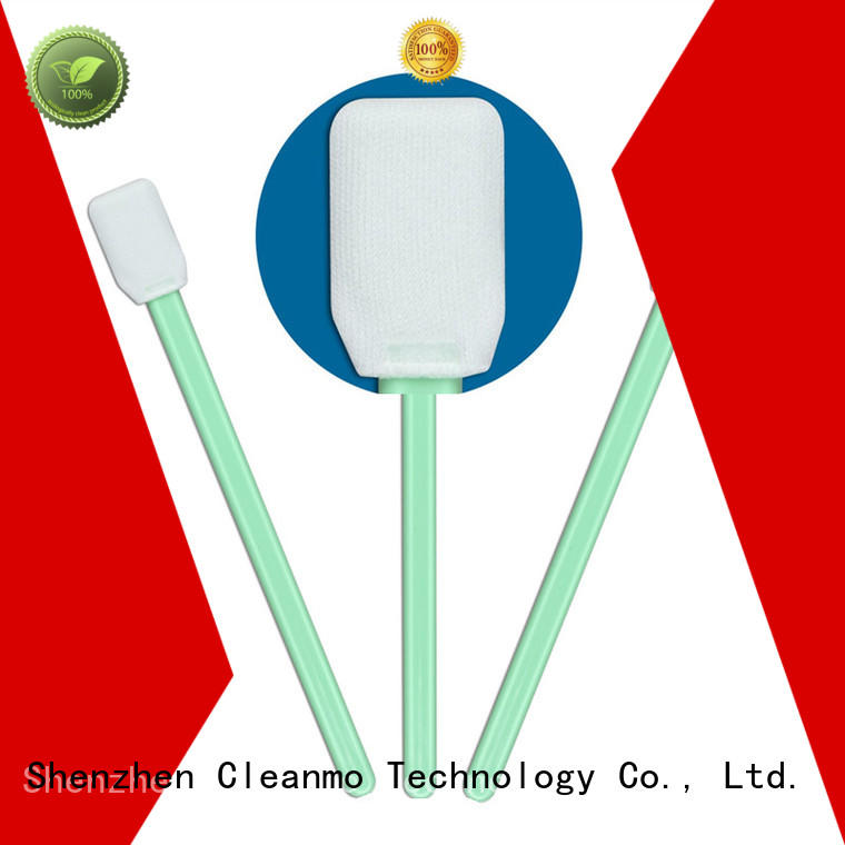 Cleanmo cost-effective microfiber swabs factory price for general purpose cleaning