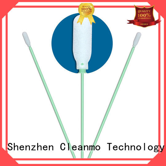 Cleanmo precision tip head ear swab supplier for general purpose cleaning