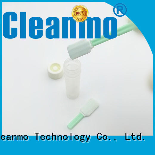 good quality sterile q tips Polypropylene handle supplier for test residues of previously manufactured products