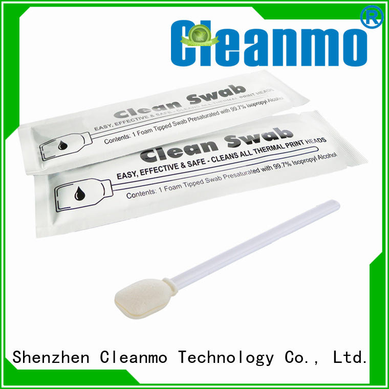 Cleanmo Aluminum Foil printhead cleaning swabs supplier for computer keyboards