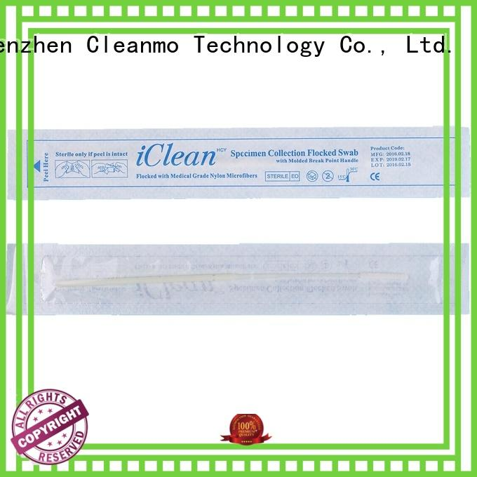 Cleanmo Brand cleanmos flocked custom sample collection swabs