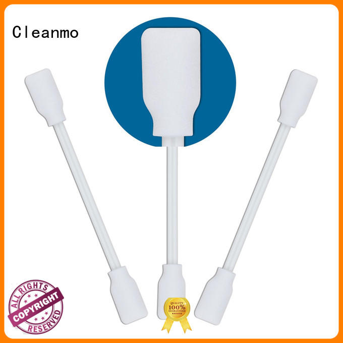 Cleanmo high quality cotton tips thermal bouded for Micro-mechanical cleaning
