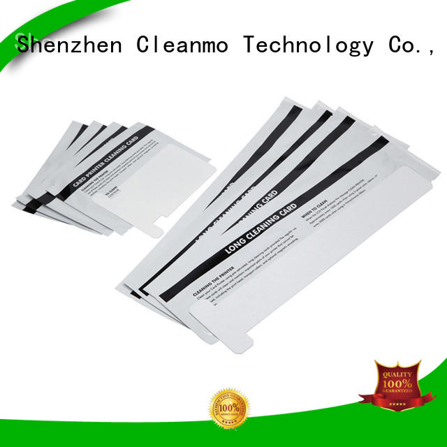disposable zebra printer cleaning cards Aluminum foil packing supplier for ID card printers
