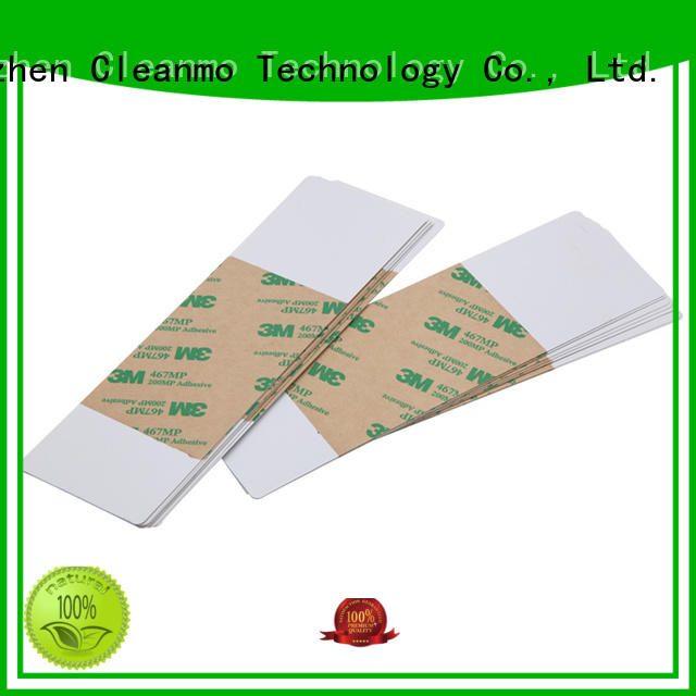 Cleanmo disposable printhead cleaner supplier for Fargo card printers