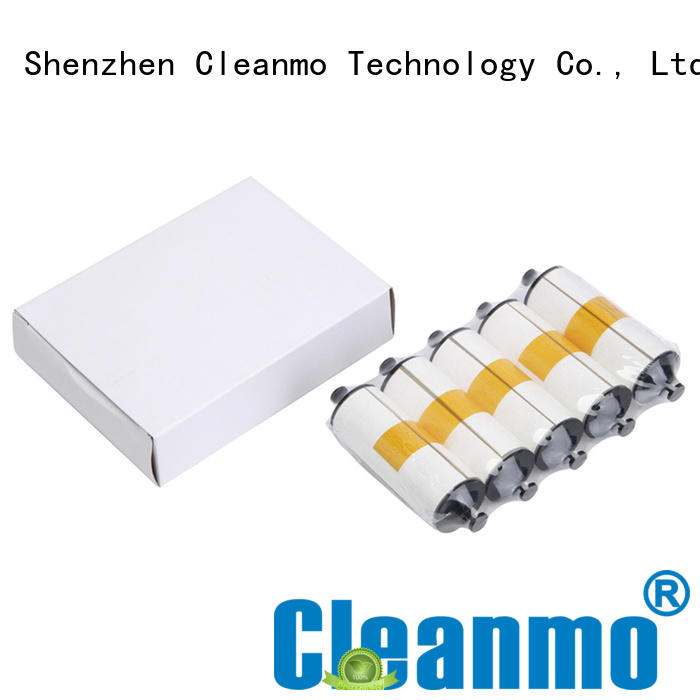 Cleanmo cost effective zebra cleaners manufacturer for Zebra P120i printer