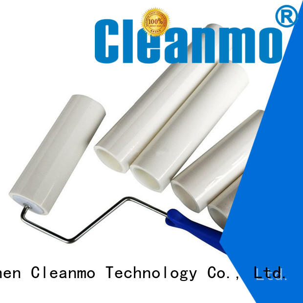 Cleanmo soft surface texture tacky roller supplier for cleaning