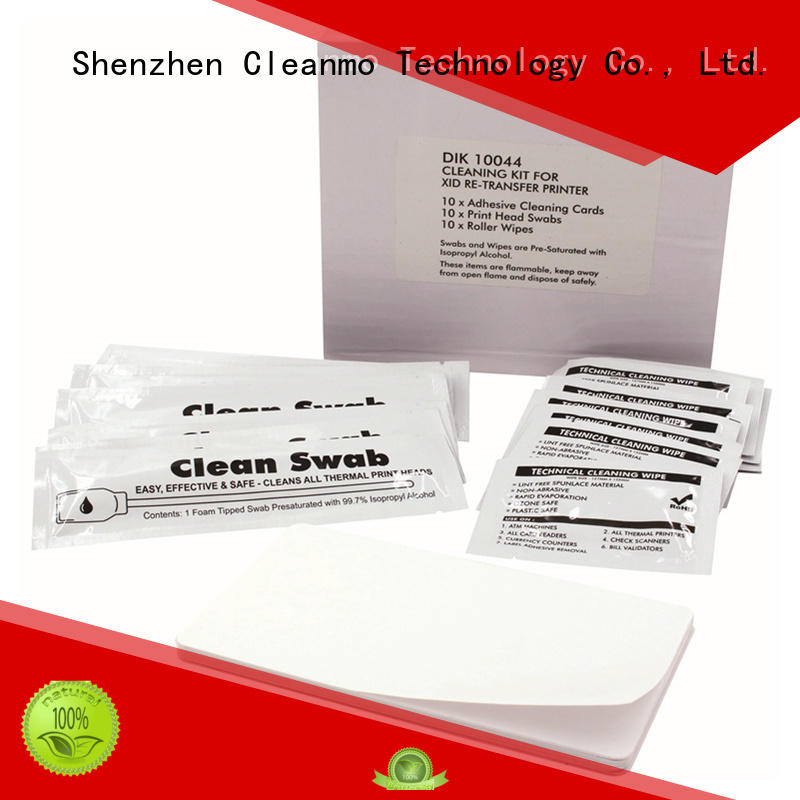 Cleanmo PVC Matica EDIsecure Cleaning Kits wholesale for card printer