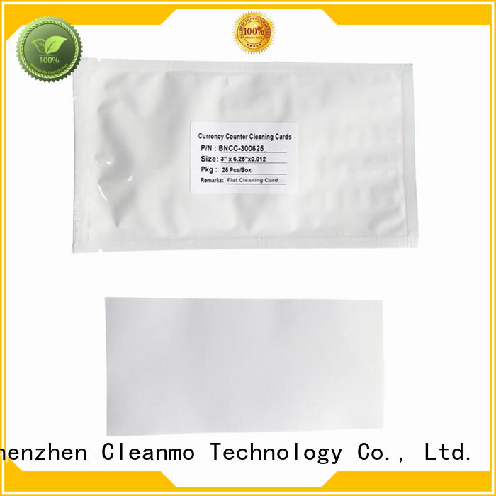 effective electronic lock cleaning cards Spring Loaded Features wholesale for Currency Counter