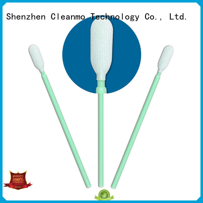 Cleanmo compatible fiber optic swabs wholesale for optical sensors