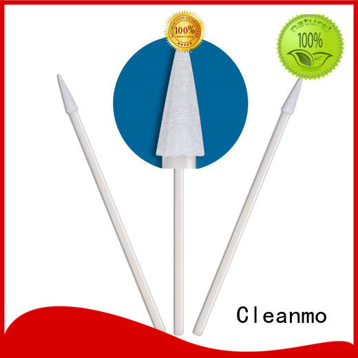 Cleanmo ESD-safe transport swab manufacturer for excess materials cleaning