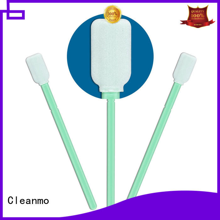 Cleanmo high quality Disposable Microfiber Swabs manufacturer for Micro-mechanical cleaning