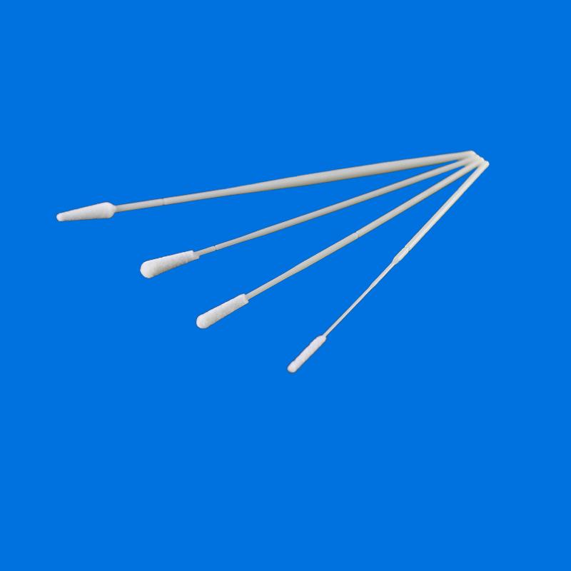 Cleanmo Nylon Fiber head flocked swab wholesale for cytology testing-1