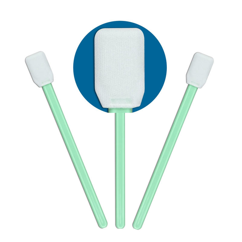 Cleanmo ESD-safe precision cotton swabs supplier for excess materials cleaning